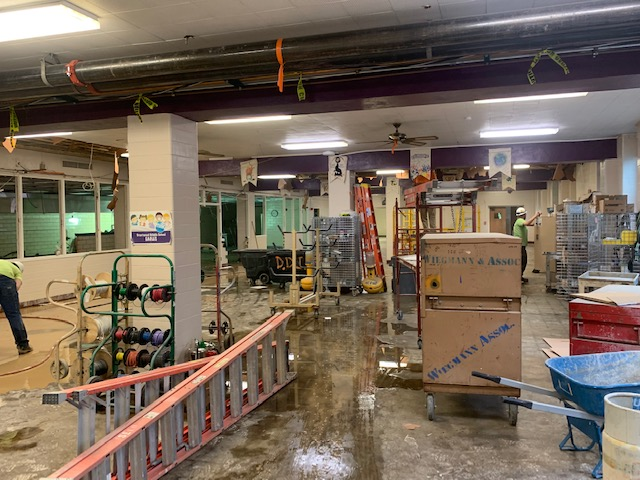 cafeteria construction 2019