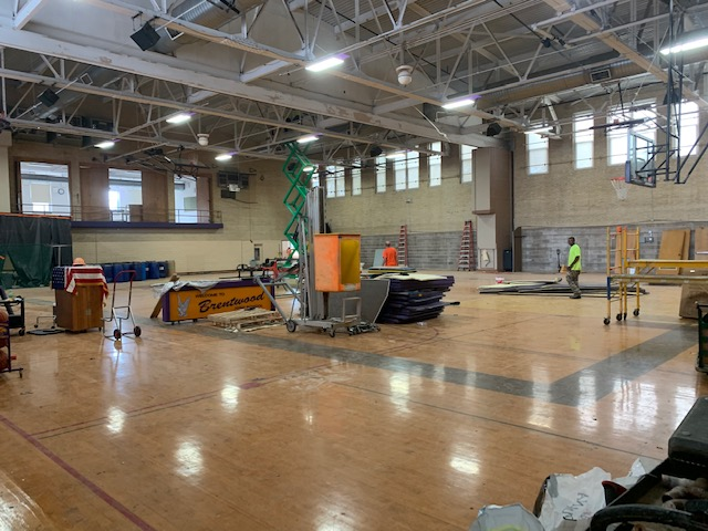 gym construction 2019