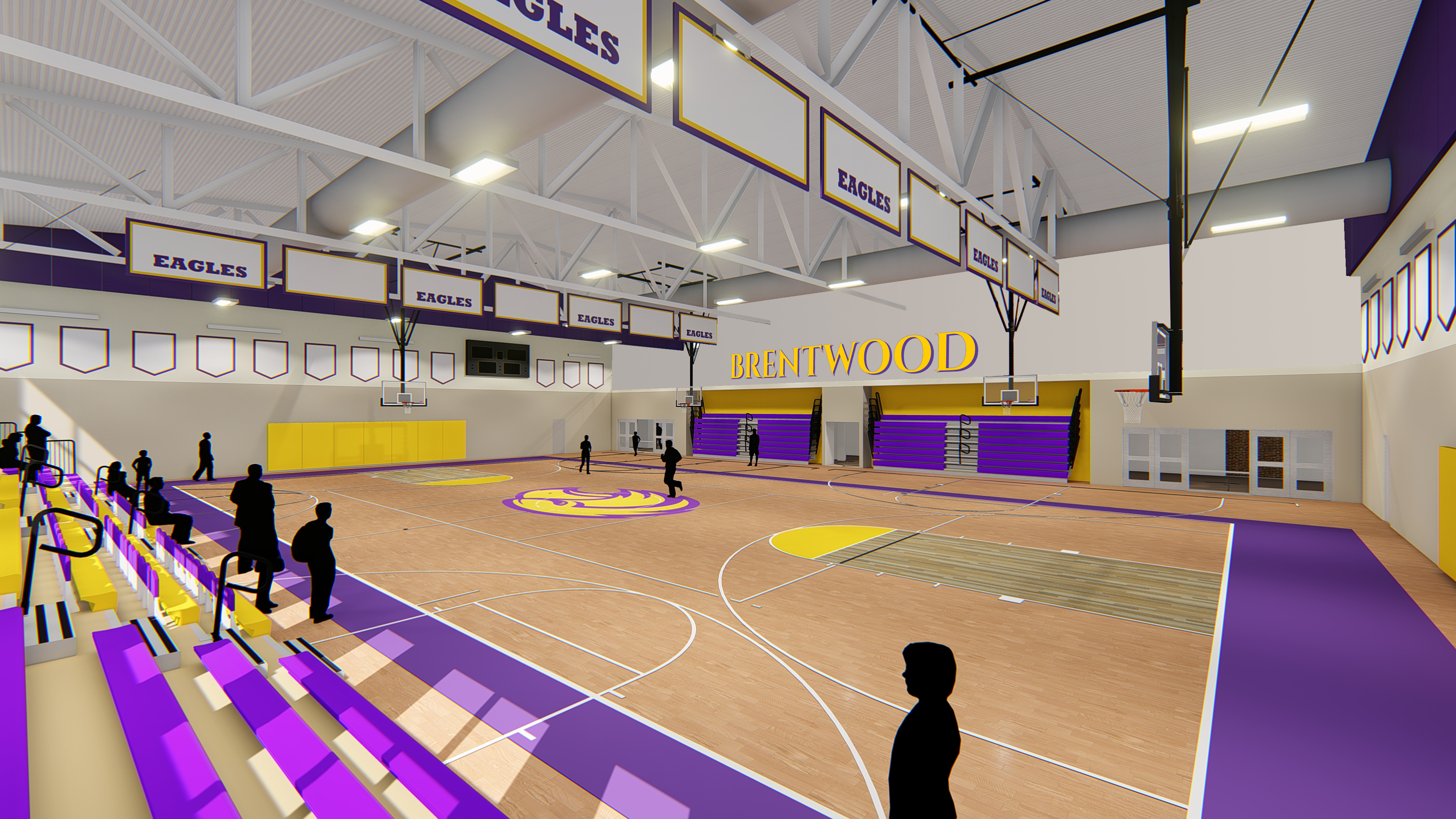 Conceptual Rendering of Updated Gymnasium