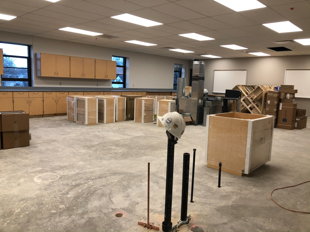 Progress of STEM labs.