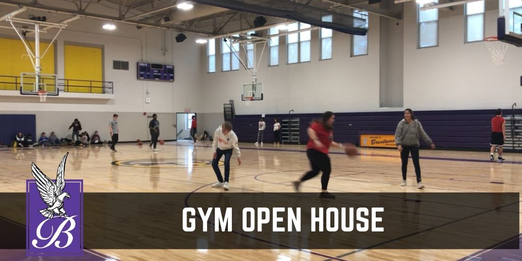 gym open house on February 4th.